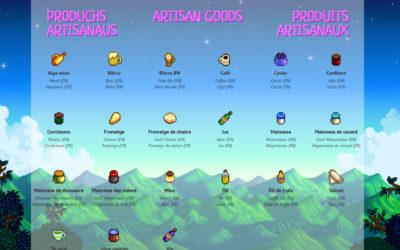 Produchs artisanaus